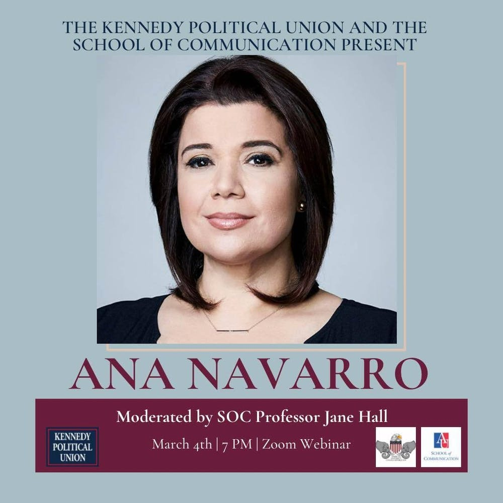 Ana Navarro, GOP political strategist and TV analyst, to speak at virtual event