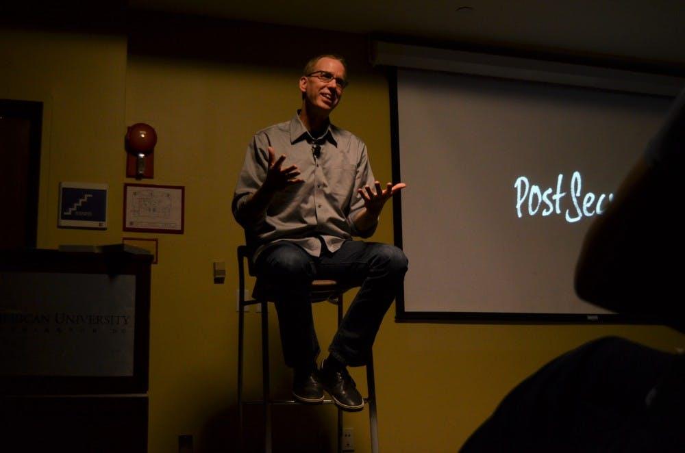 PostSecret founder Frank Warren talks mental health at KPU event