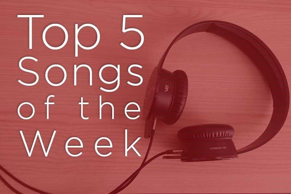The Scene's top five songs of the week
