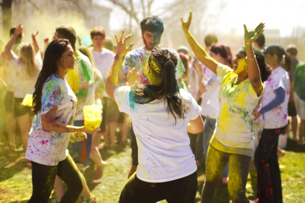SASA hosts annual Holi celebration on the quad