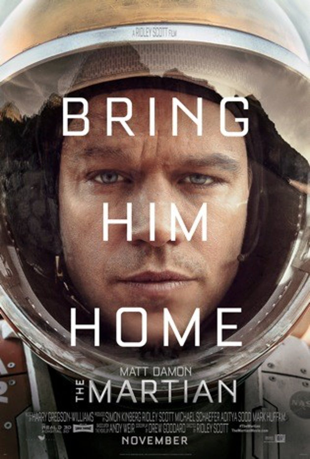 """Movie Review: """"The Martian"""""""