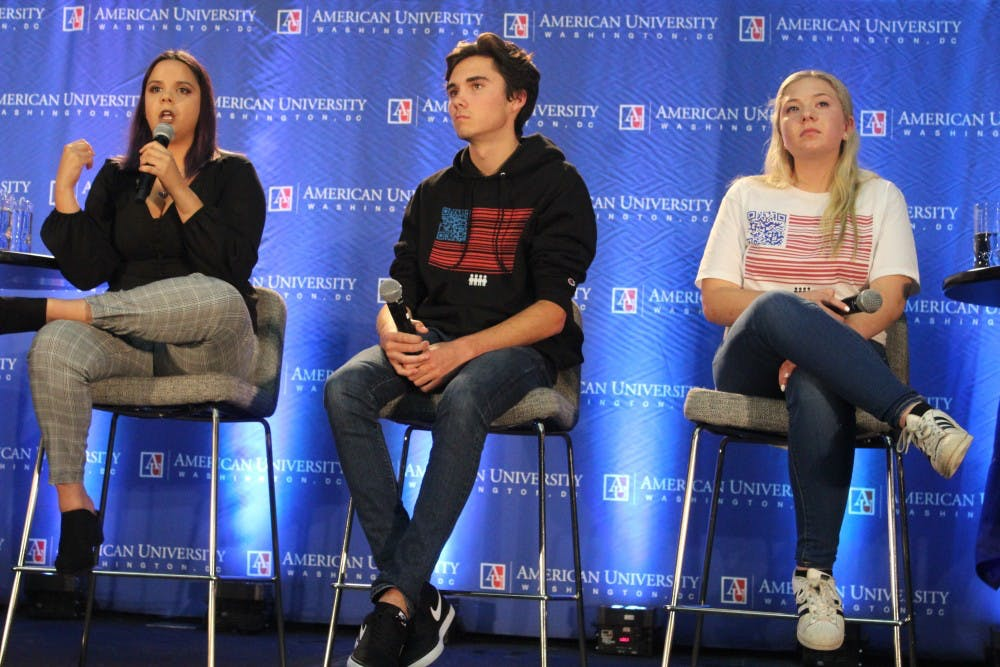 Parkland student activists speak out on voting, gun control efforts at AU event