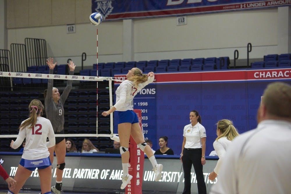 Volleyball senior Helena Elbaek discusses legacy, season ahead