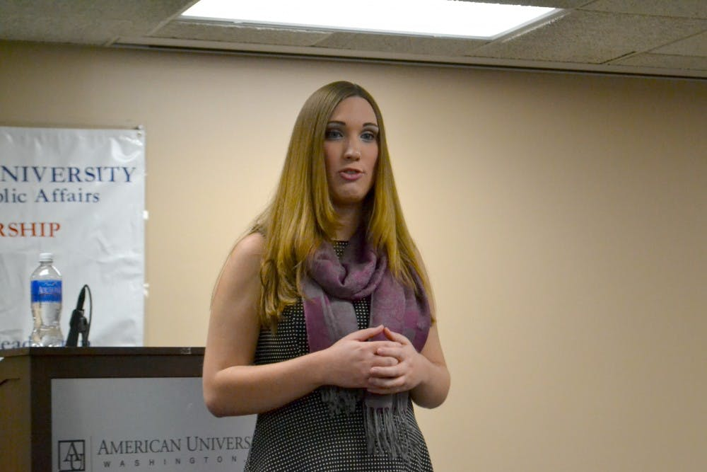AU alumna Sarah McBride speaks at DNC