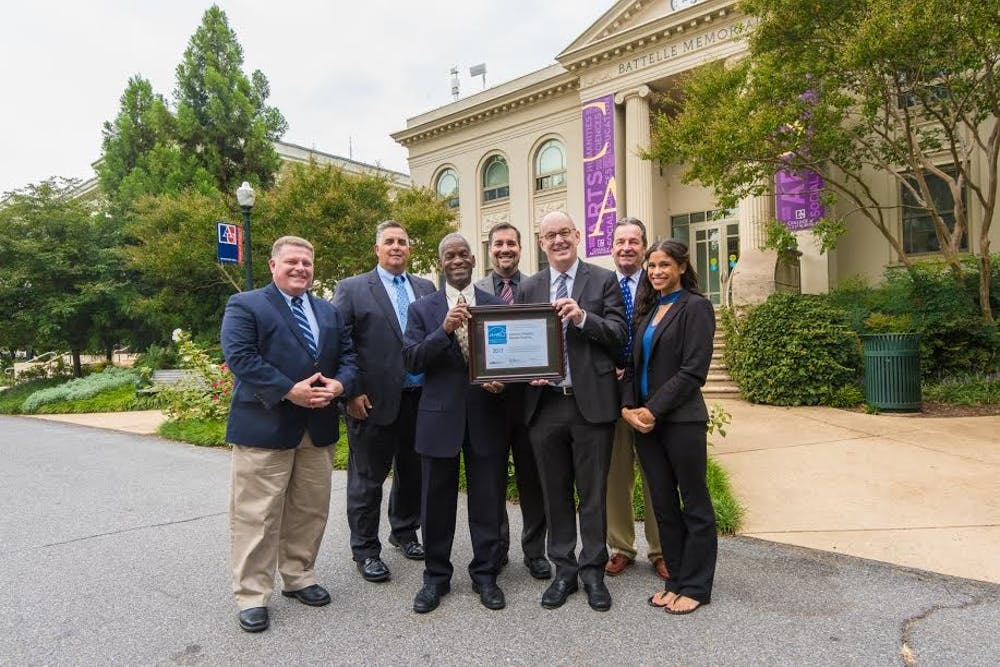 Battelle-Tompkins certified as AU's first Energy Star building
