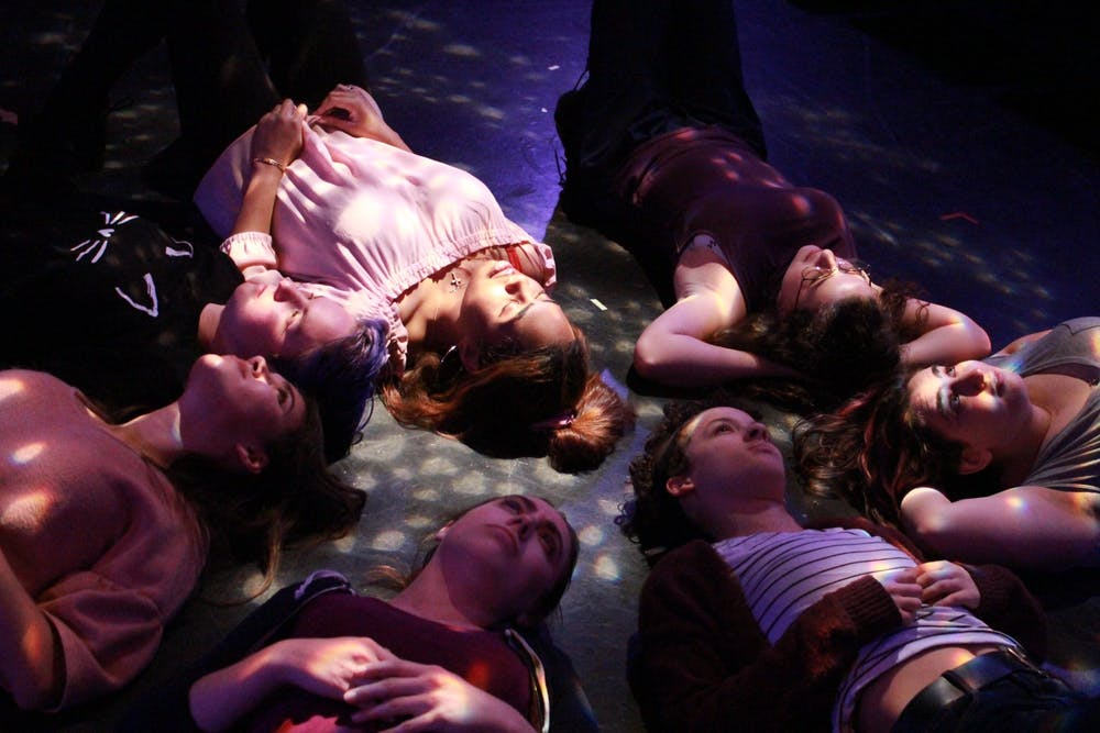 "Theater students ponder the universe in capstone performance ""Eight Minutes"""
