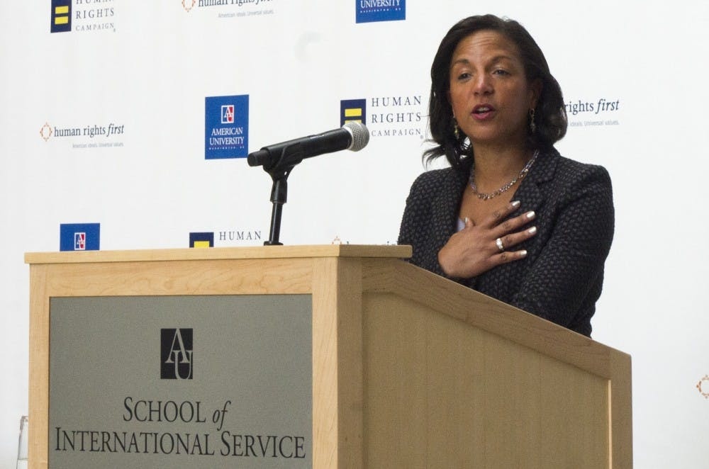 Research fellow and former Obama advisor Susan Rice receives University's higher honor