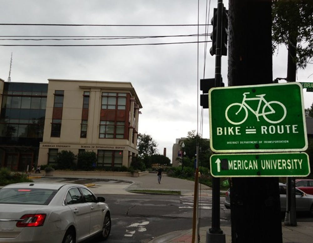 Bike lanes on New Mexico Avenue one step closer to completion