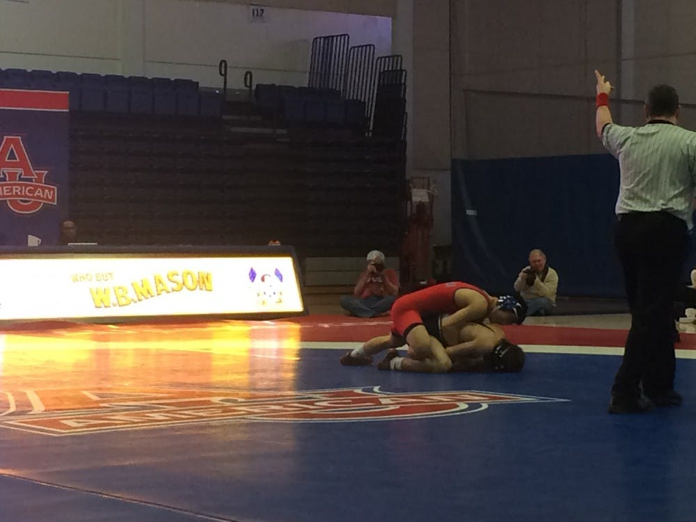 AU wrestling drops tightly-contested dual meet to Drexel