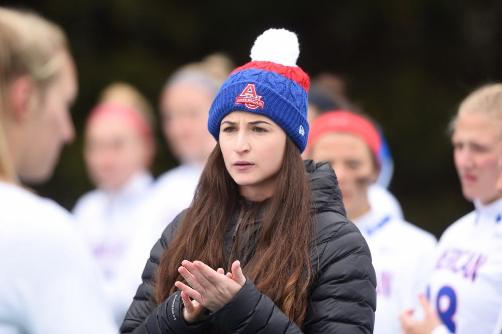 AU's youngest women's lacrosse coach proves age is just a number
