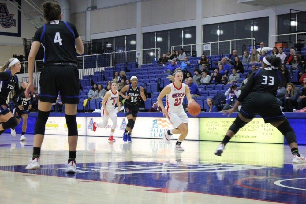 AU women's basketball advances to Patriot League tournament final