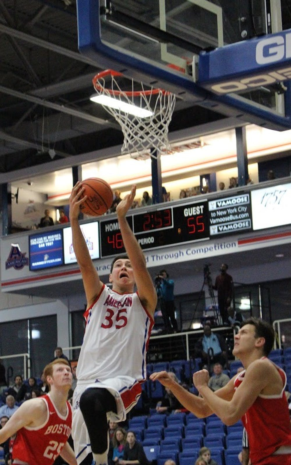 Men's Basketball 14th loss of the season highlights continued offensive struggles
