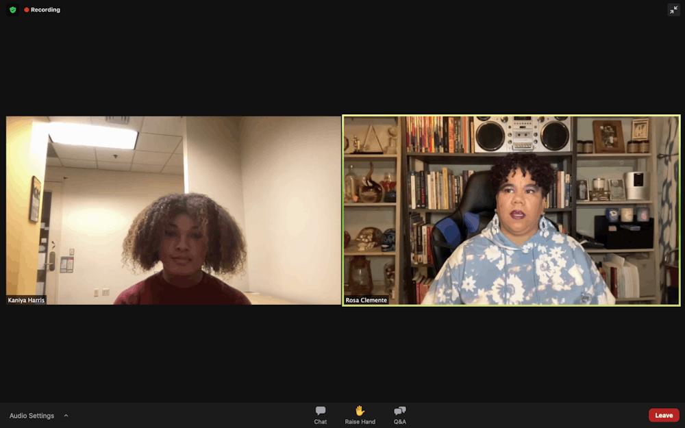 Community organizer Rosa Clemente talks activism strategies, importance of studying revolutionary history