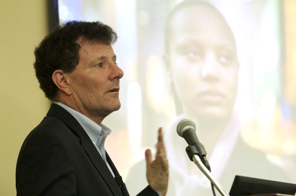 "Kristof: women's inequality is the ""cause of your time"""