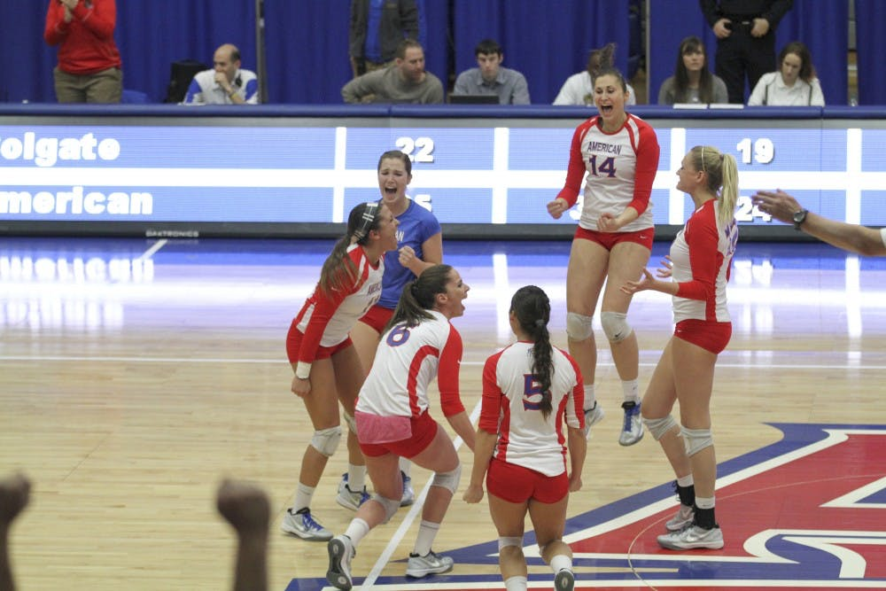 AU Volleyball upsets No.16 Duke to advance to Sweet 16