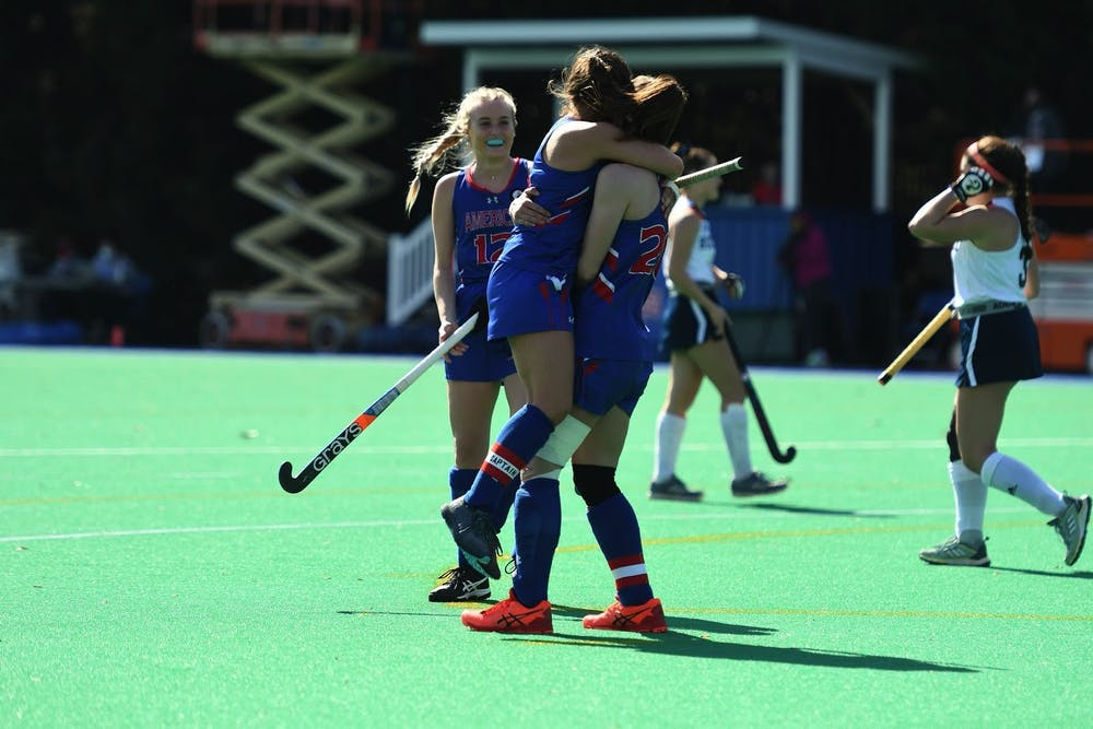 Field hockey finishes regular season with win over Lafayette, advance to Patriot League tournament