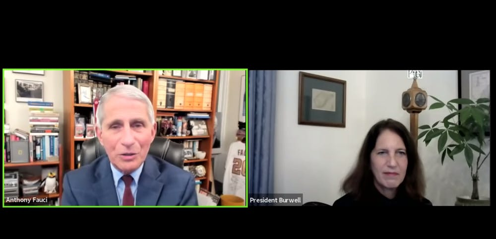 As COVID-19 cases rise, Fauci warns about the dangers of distrusting science