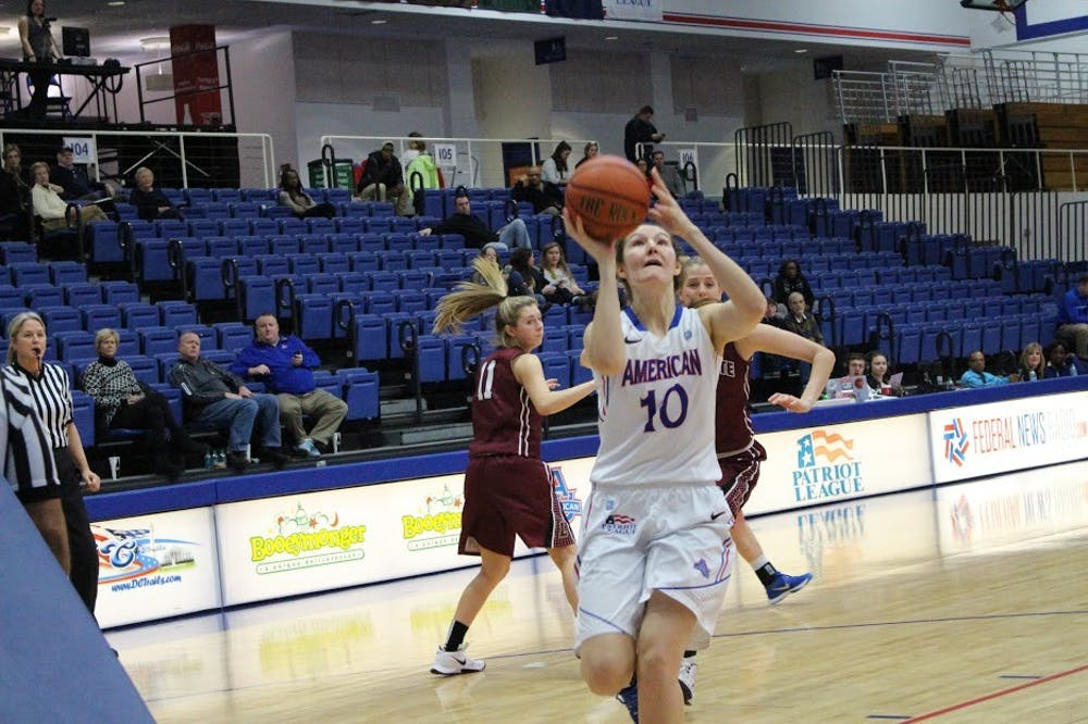 AU student-athlete Lauren Crisler excelling on and off the court