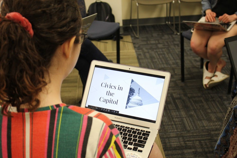 Student organizers to launch 'Civics in the Capitol' education program