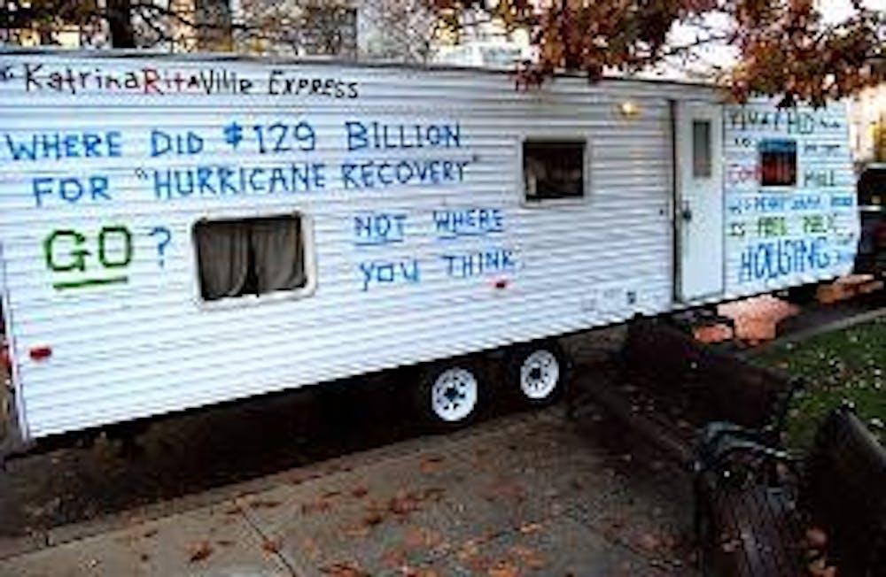 Trailer questions FEMA action