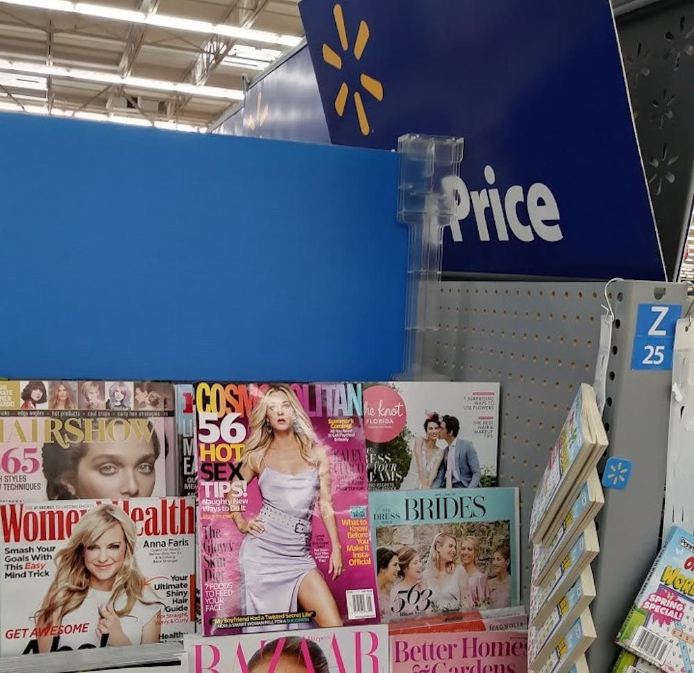 Professors weigh in on objectification of women after Walmart removes Cosmopolitan from checkout lines