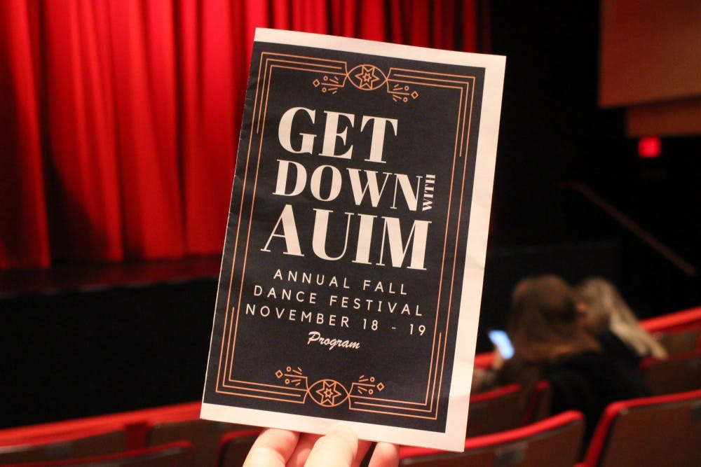 "Review: AU in Motion's ""Get Down with AUIM: Annual Fall Dance Festival"""