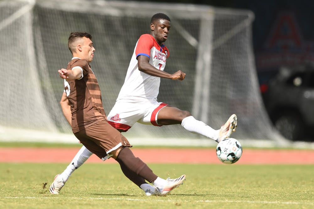 The Eagles battle to a draw with Boston University