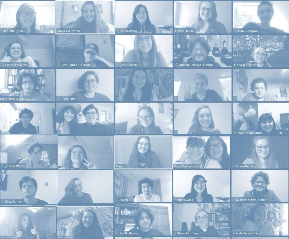 The show must go on: AU student performing arts groups go virtual