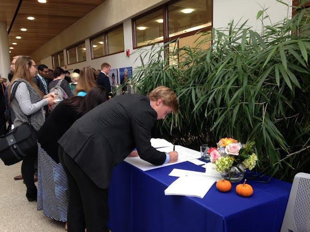 AU community commemorates life of Matthew Shlonsky at memorial service