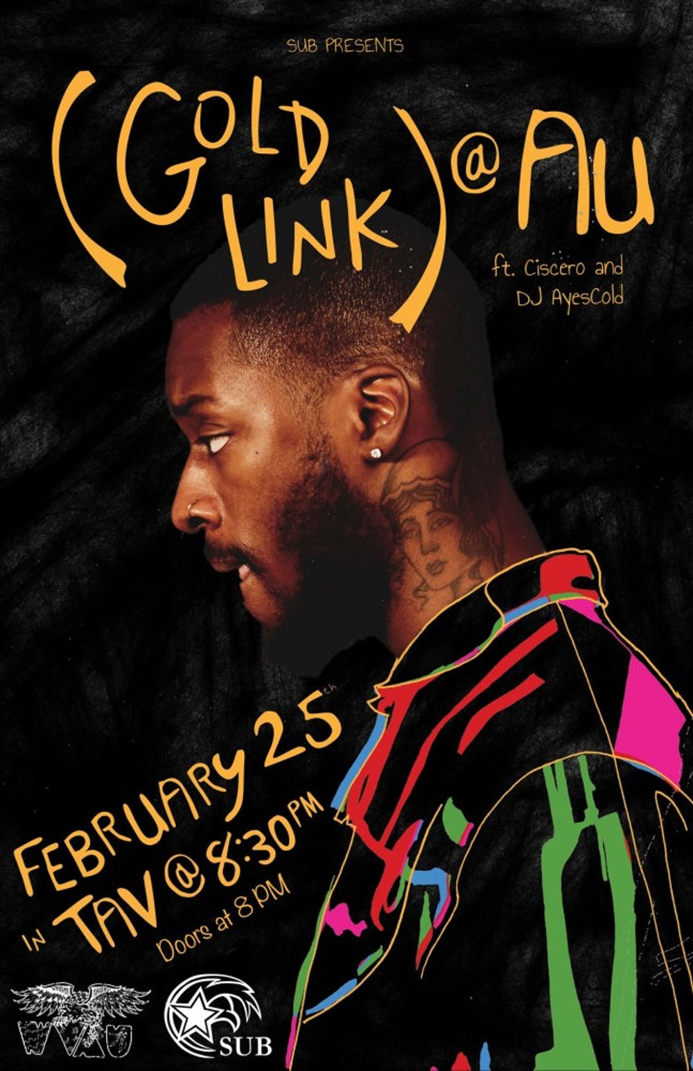 Goldlink to perform at SUB spring concert