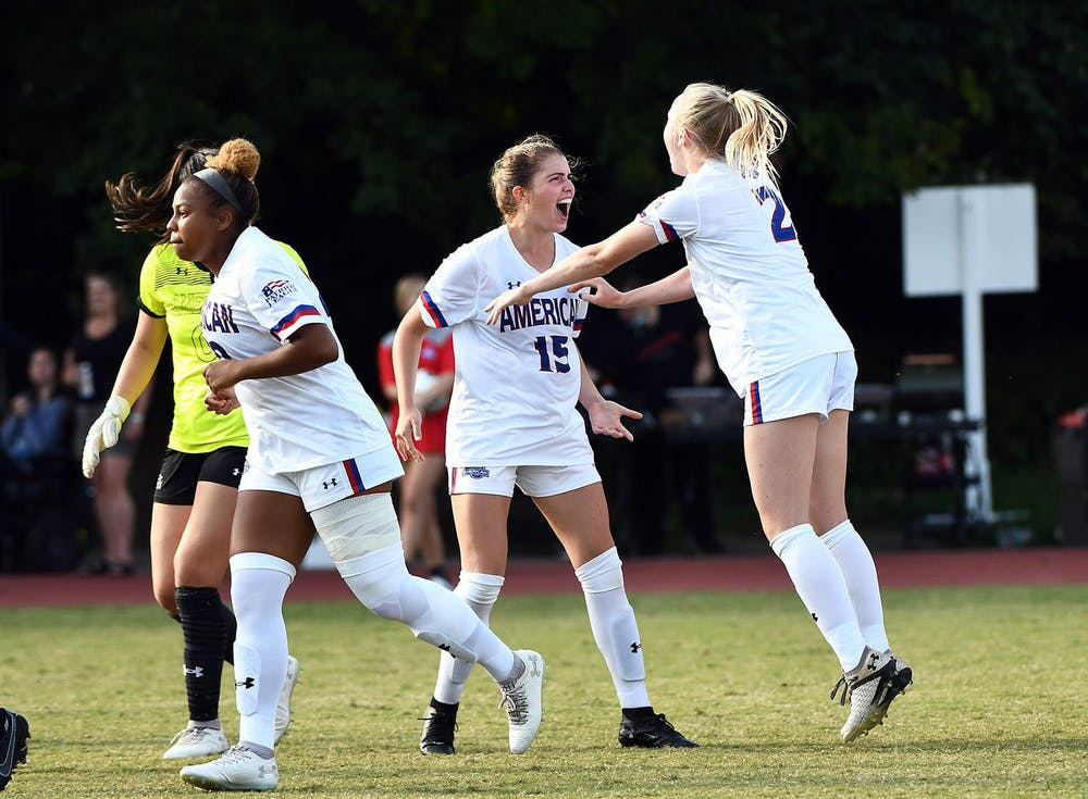 Smith's goal lifts women's soccer to victory against Army in highly-anticipated battle