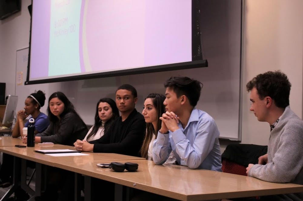 At Latinx-focused forum, Student Government candidates address funds for multicultural organizations, intersectionality