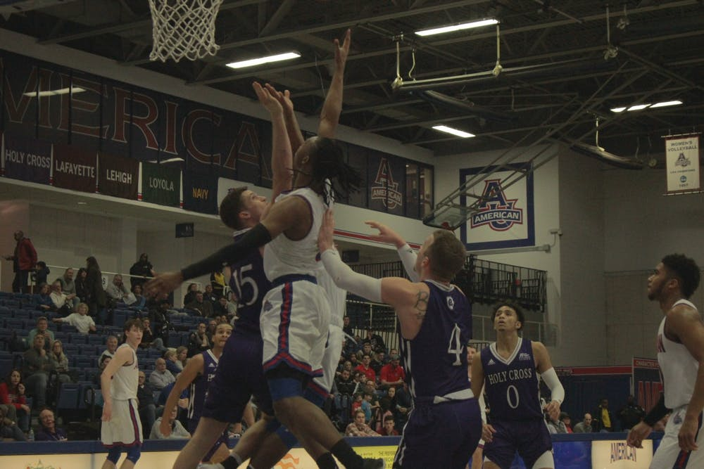 AU men's basketball pulls away from Lehigh in the 2nd half