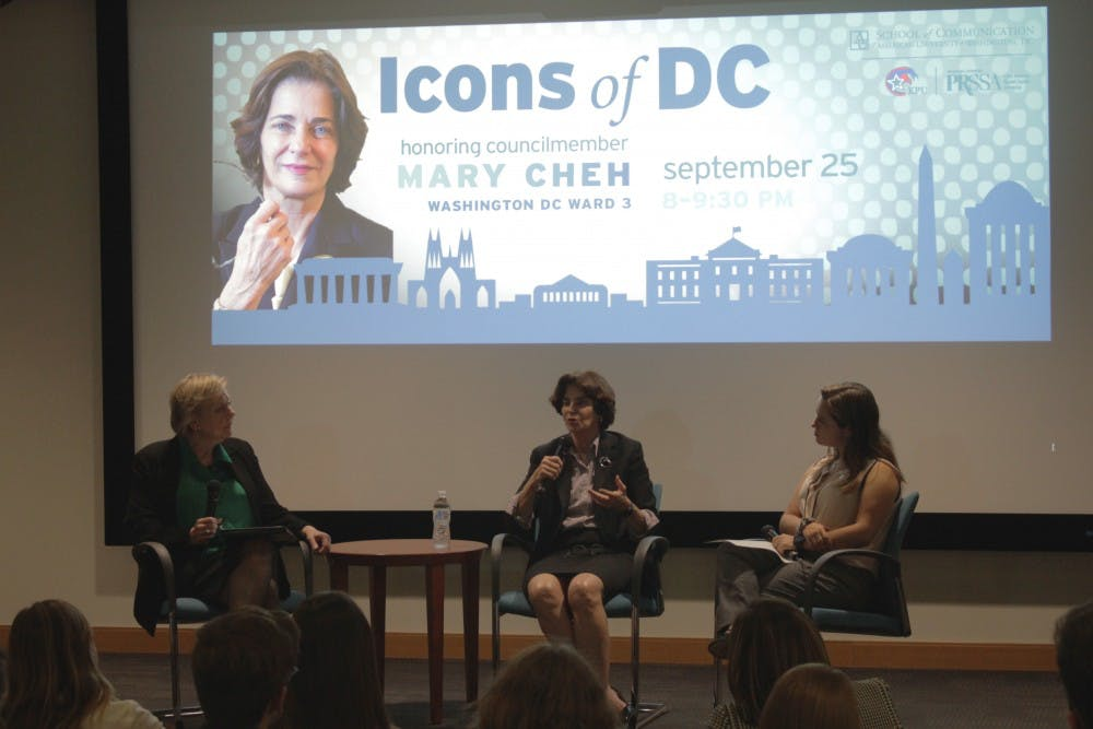 D.C. Councilmember Mary Cheh honored at Icons of D.C. event