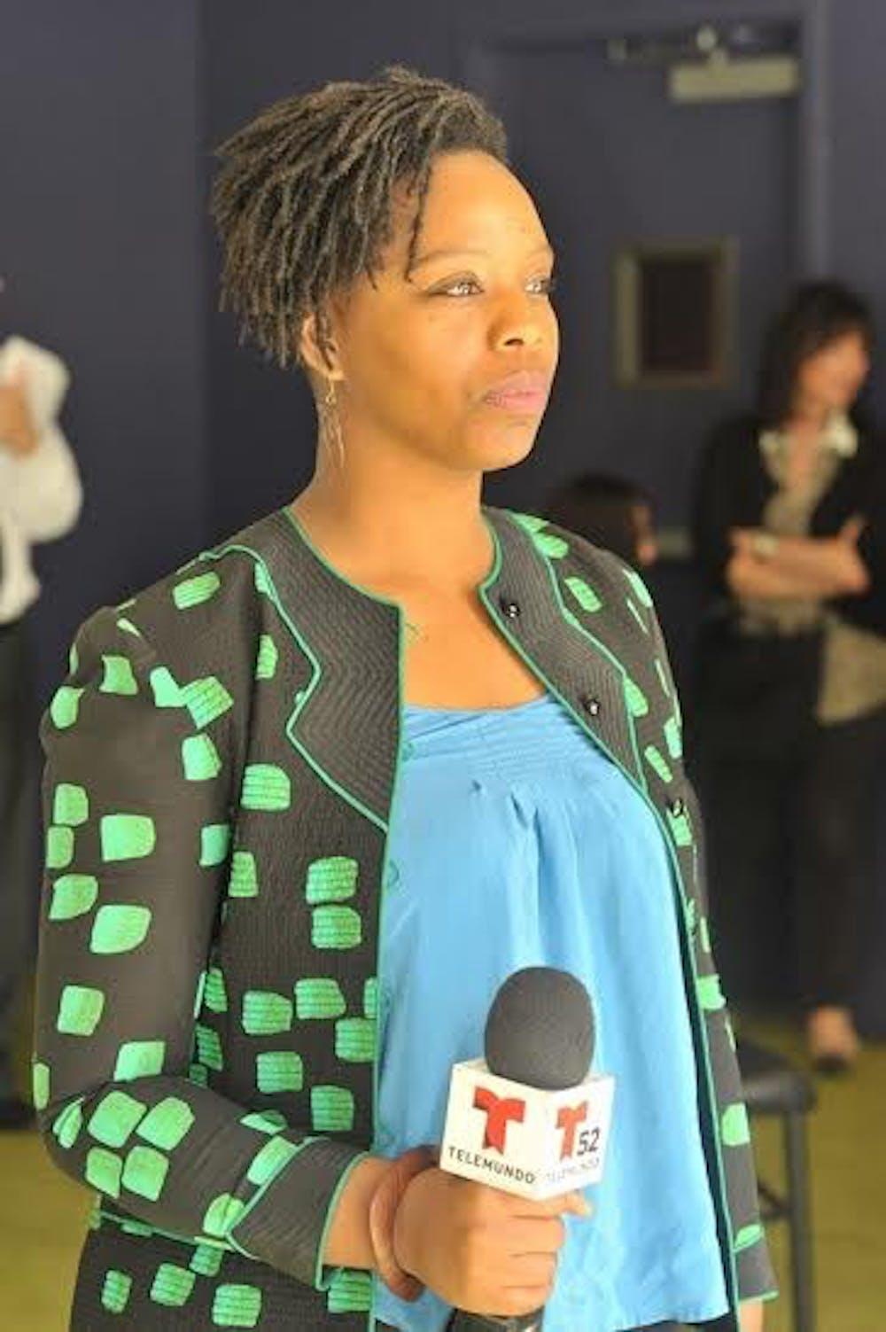 Black Lives Matter co-founder speaking at AU