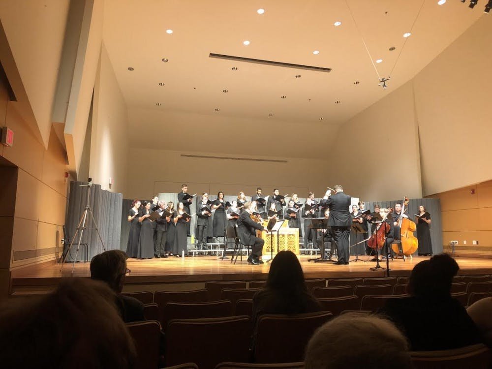 Chamber Singers amaze audience with 'In Our Hands: Music Shaped by the New World'