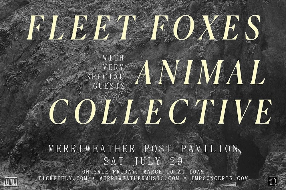 Fleet Foxes and Animal Collective to perform joint show Saturday