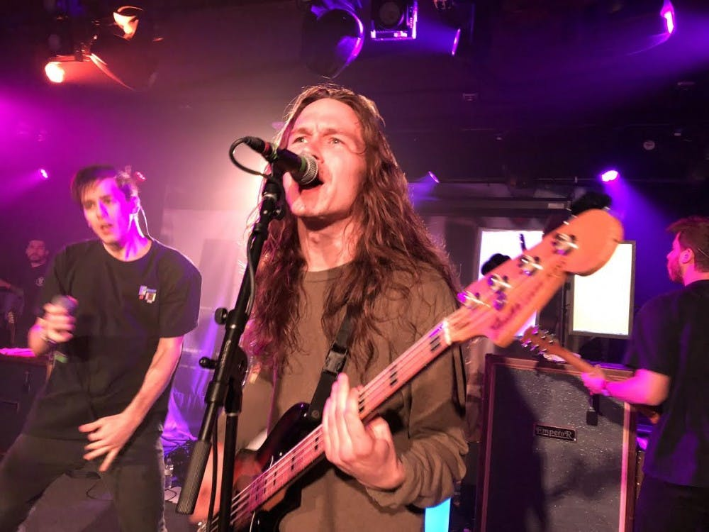 Punk rages on at Union Stage with five band concert lineup