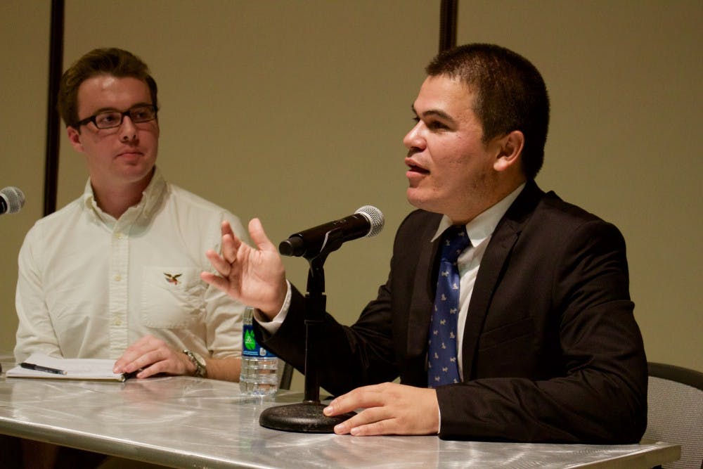 Alum Carlos Mark Vera encourages students to push back against injustice