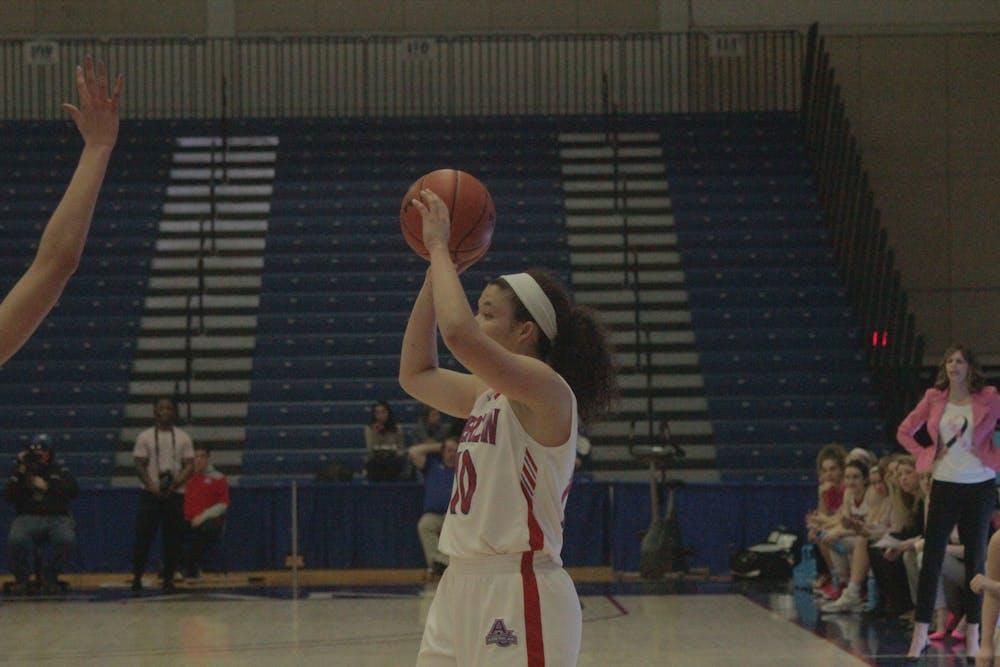 AU women's basketball snaps Boston University's seven-game win streak