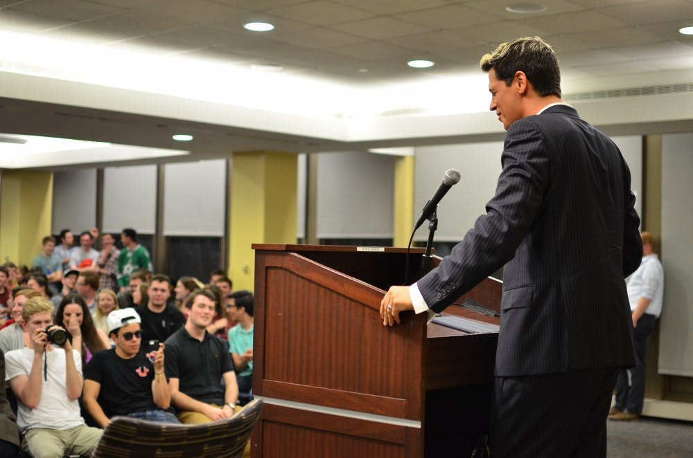 Milo Yiannopoulos greets polarized campus at Young Americans for Liberty event