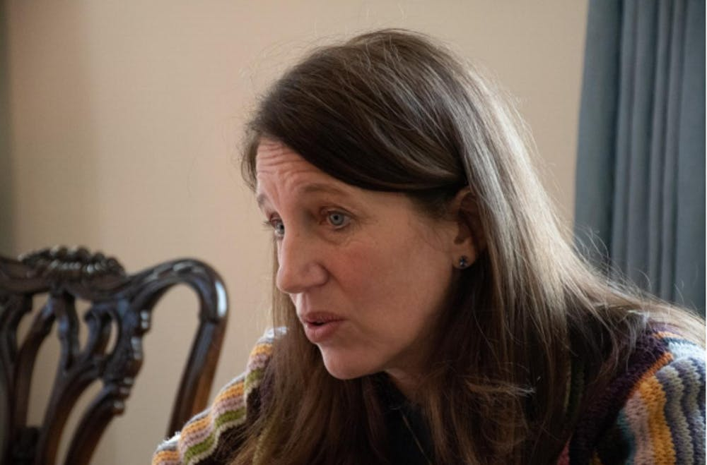 Burwell speaks to C-SPAN about the difficulties of transitioning to an online format