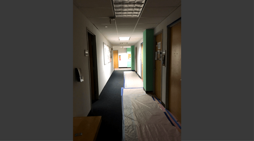 Professors, classes moved from Battelle because of mold growth