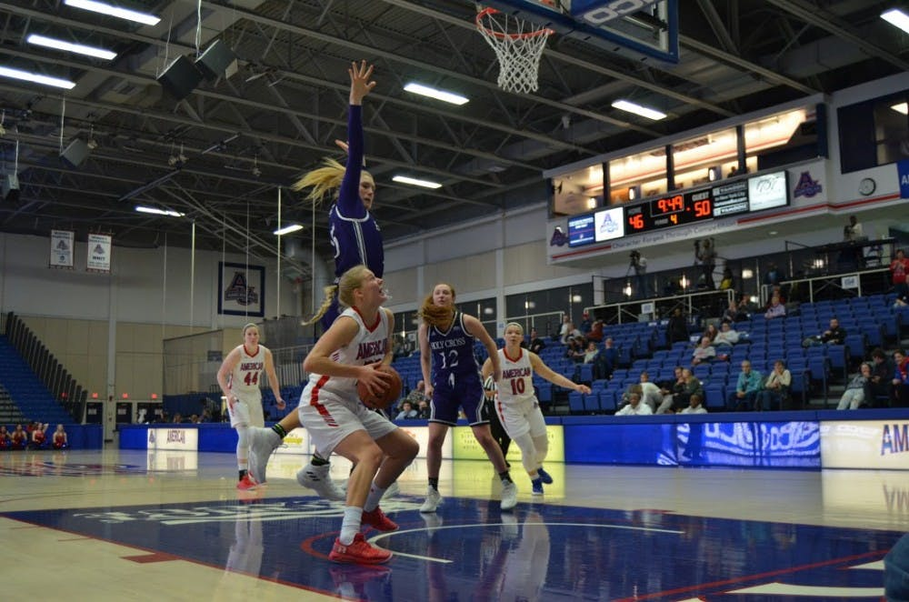 AU women's basketball loses neck-in-neck Patriot League championship game to Bucknell