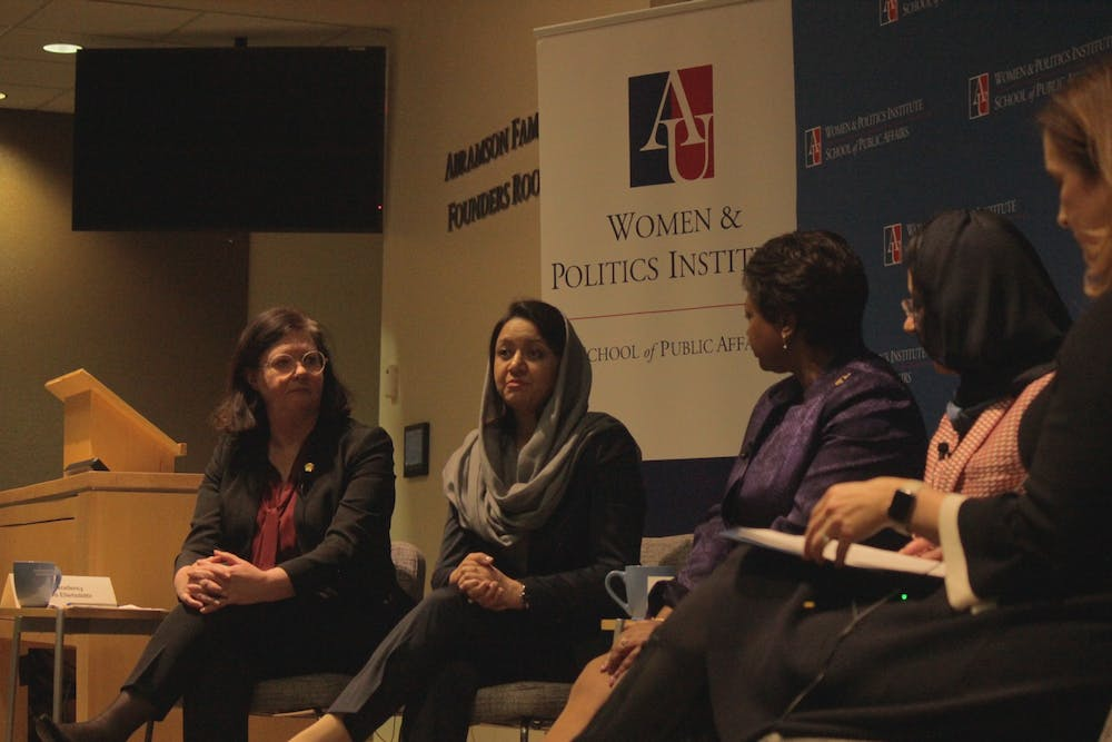 Female ambassadors speak at AU about the future of gender equality