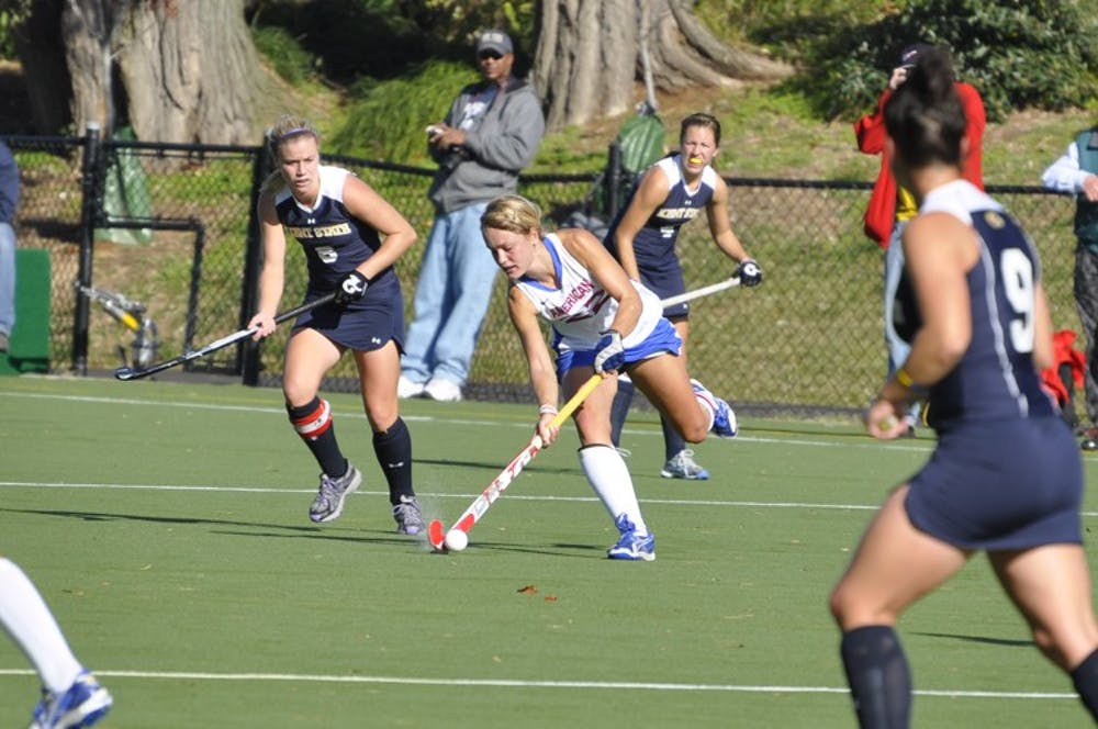 Field hockey enters NCAA tournament after 2-1 play-in game victory
