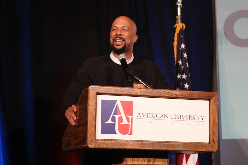 Common comes to AU for KPU's last event of the year