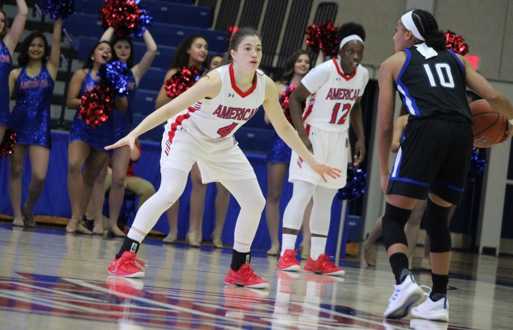 Women's basketball suffers setback in a tough loss to Lafayette