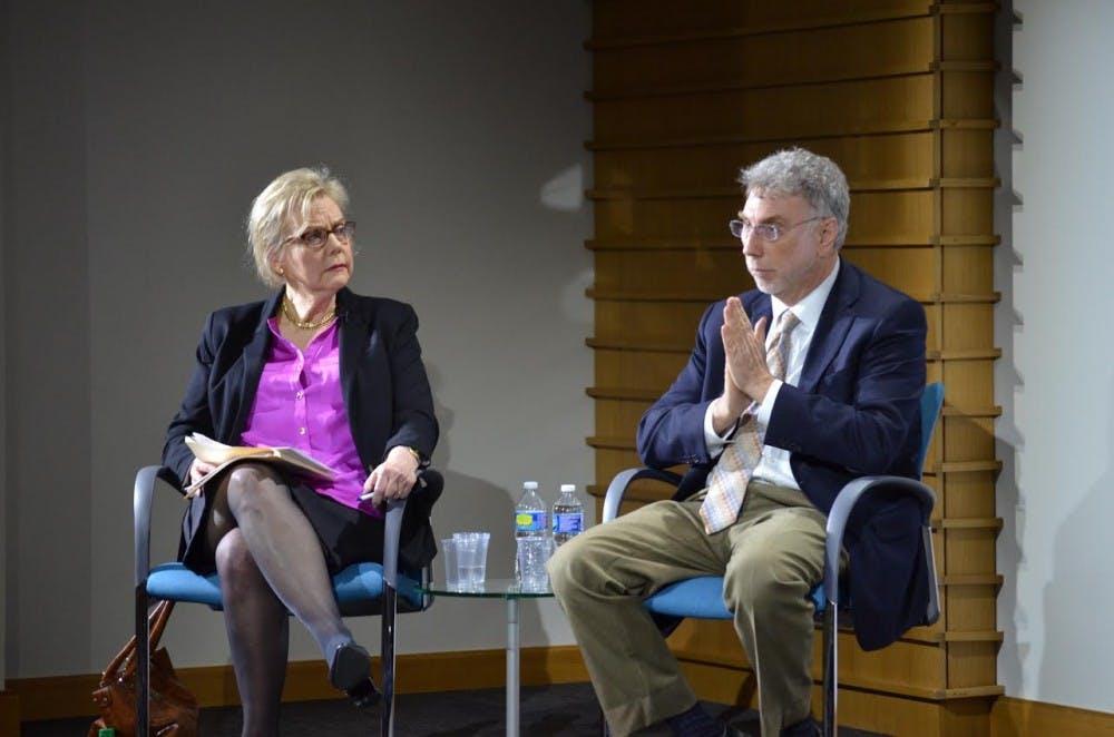 "Marty Baron, Editor of Washington Post, speaks to students about ""Spotlight"""