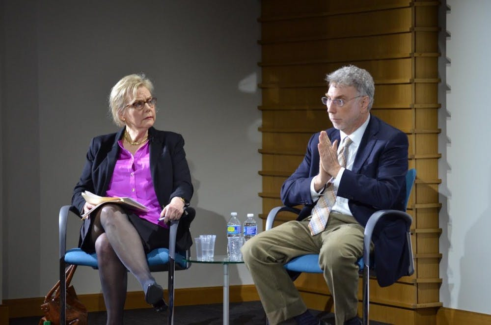 "Marty Baron, Editor of Washington Post, speaks to students about ""Spotlight"""